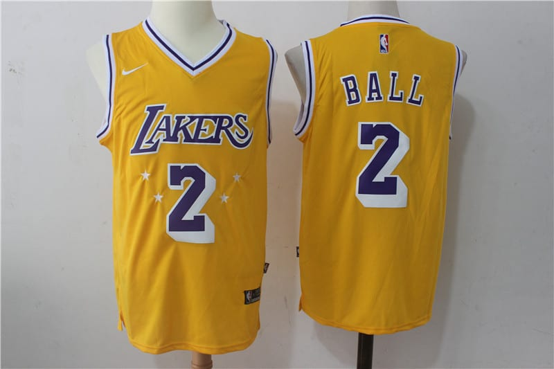 Lonzo Angeles Camiseta Ball2 Lakers Los eHIEDb9Y2W