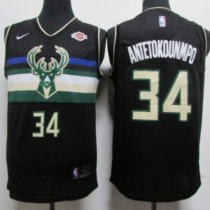 Camiseta Antetokounmpo #34 Milwaukee Bucks