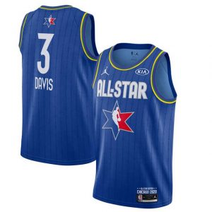 Camiseta Anthony Davis #03 TEAM LeBROM Allstars 2020