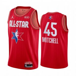 Camiseta Donovan Mitchell #45 TEAM GIANNIS Allstars 2020