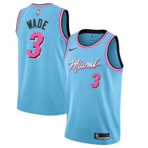 Camiseta Dwyane Wade #3 Heat The City 2020