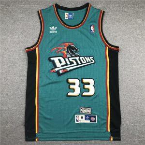 Camiseta Grant Henry Hill #33 Detroit Pistons 1