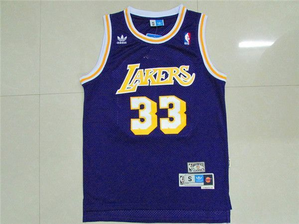 Camiseta Kareem Abdul Jabbar Lakers | Morada 1
