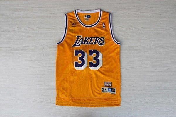 Camiseta Kareem Abdul Jabbar de los Angeles Lakers