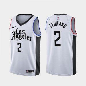 Camiseta Kawhi Leonard #2 Raptors The City 2020