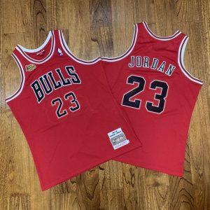 Camiseta Michael Jordan #23 Bulls NBA finals 1997-98