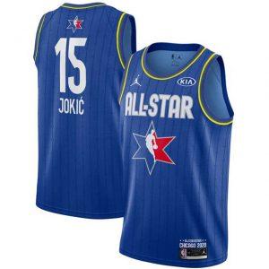 Camiseta Nikola Jokic #15 TEAM LeBROM Allstars 2020
