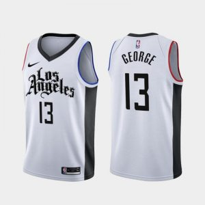 Camiseta Paul George #13 Clippers The city 2020