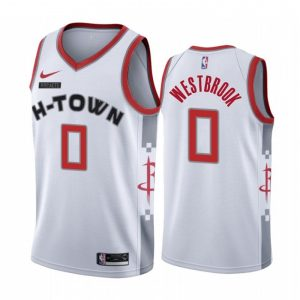 Camiseta Russell Westbrook #0 Rockets The city