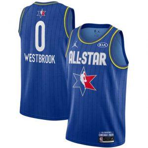 Camiseta Russell Westbrook #0 TEAM LeBROM Allstars 2020