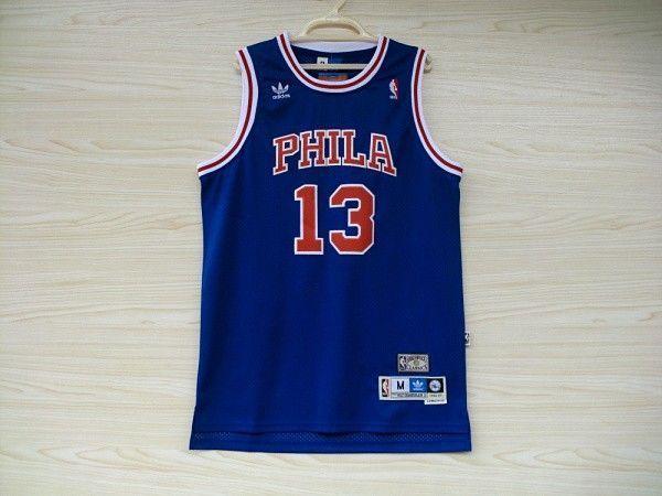 Camiseta Wilt Chamberlain #13 Philadelphia 76ers