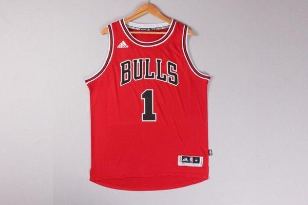 Camiseta Derrick Rose #1 Chicago Bulls