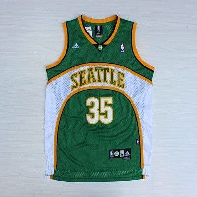 Camiseta Kevin Durant #35 Seattle Supersonics