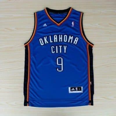 Camiseta Serge Ibaka #9 Oklahoma City Thunder
