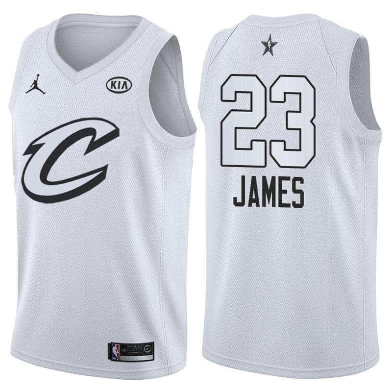 381711542 Camiseta LeBron James  23 All Star 2018  22