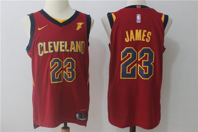 5d9d73d06 Camiseta LeBron James  23 Cleveland Cavaliers  22