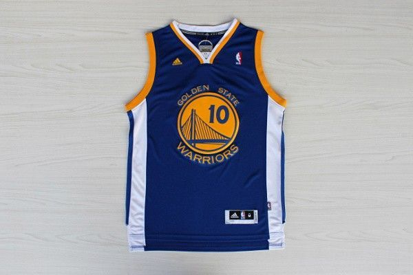 Camiseta David Lee #10 Golden State Warriors