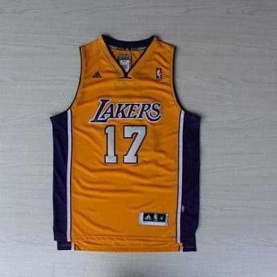Camiseta Jeremy Lin #17 Los Angeles Lakers