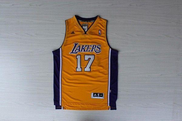 Camiseta Jeremy Lin #17 Los Angeles Lakers