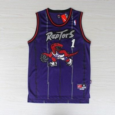 Camiseta Tracy McGrady #1 Toronto Raptors