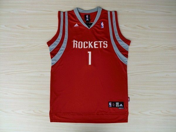 Camiseta Tracy McGrady #1 Houston Rockets