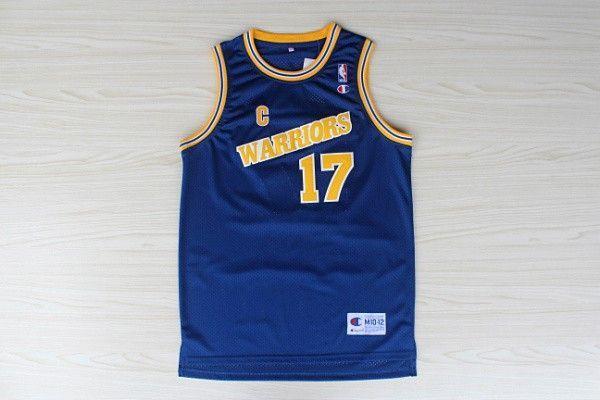Camiseta Chris Mullin #17 Golden State Warriors