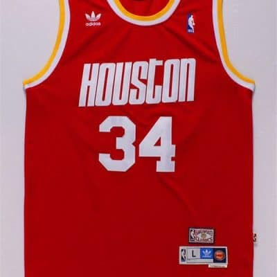 Camiseta Hakeen Olajuwon #33 Houston Rockets