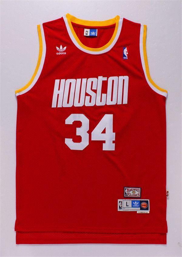 Camiseta Hakeen Olajuwon #33 Houston Rockets