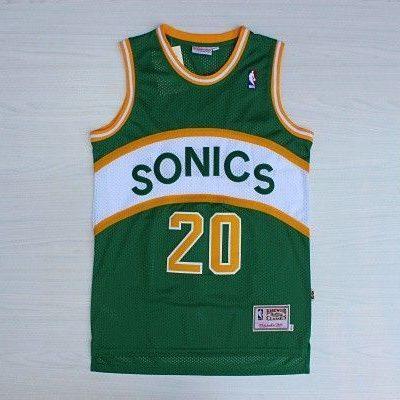 Camiseta Gary Payton #20 Seattle Supersonics