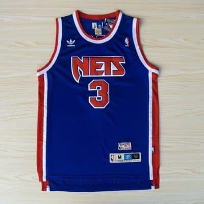 Camiseta Drazen Petrovic #3 New Jersey Nets