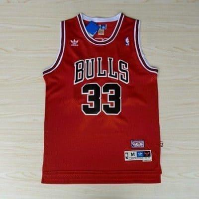 Camiseta Scottie Pippen #33 Chicago Bulls