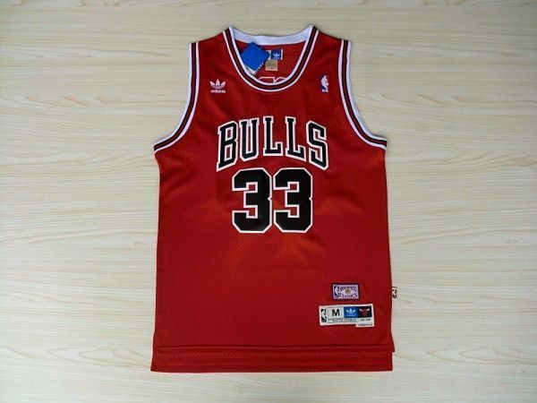 Camiseta Scottie Pippen #33 Chicago Bulls