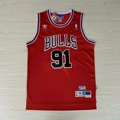 Camiseta Dennis Rodman #91 Chicago Bulls
