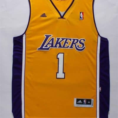 Camiseta S'Angelo Russell #1 Los Angeles Lakers