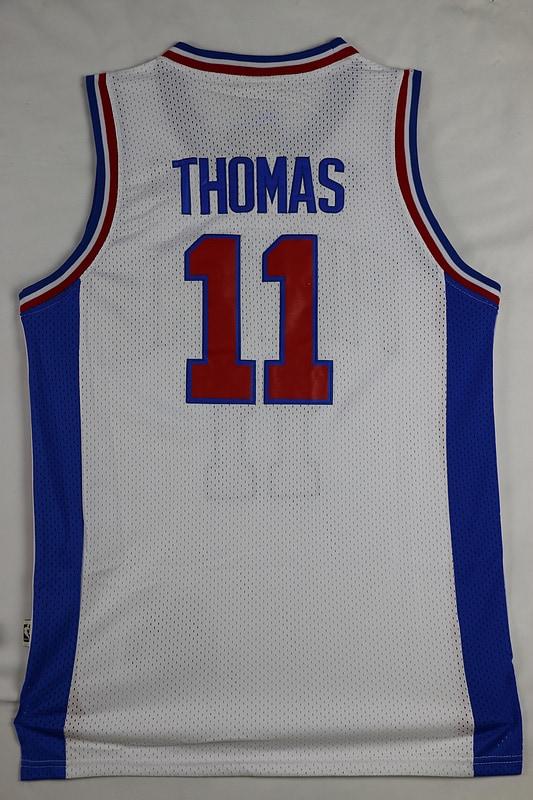 Camiseta Isiah Thomas #11 Blanca