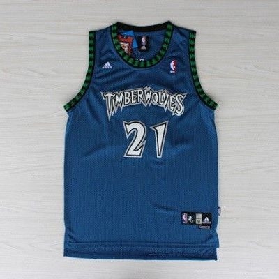 Camiseta Kevin Garnett Minnesota Timberwolves Azul
