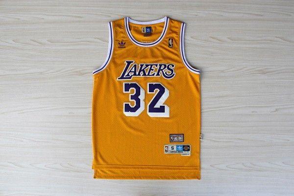 Camiseta Magic Johnson #32 Lakers