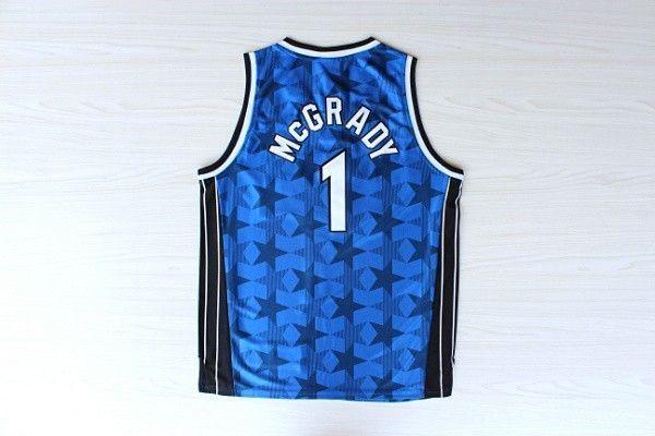 Camiseta McGrady Orlando Azul Oscuro