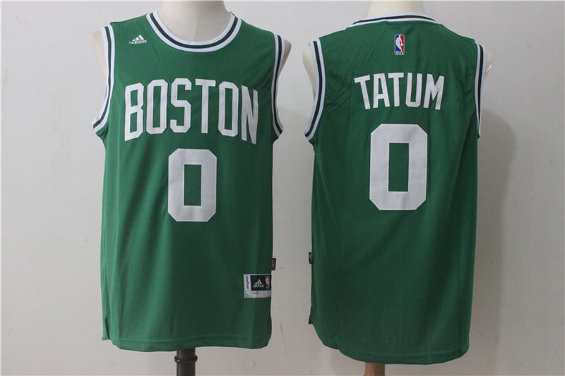 Camiseta Jayson Tatum Boston Celtics Verde