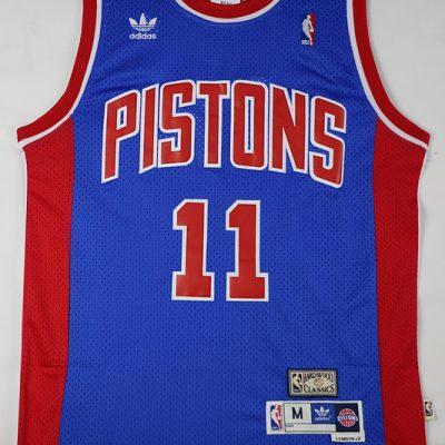 Camiseta Isiah Thomas Pistons Azul