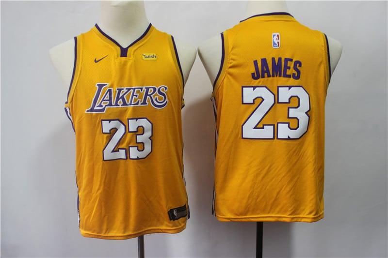 a232c2bb48 Camiseta Niño Lebron James #23 Los Angeles Lakers 【22,90€】 | TCNBA