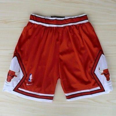 Pantalones de los Chicago Bulls | Color Rojo