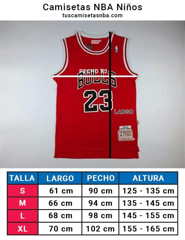 78a2b1786 Camiseta Niño Michael Jordan  23 Chicago Bulls  22